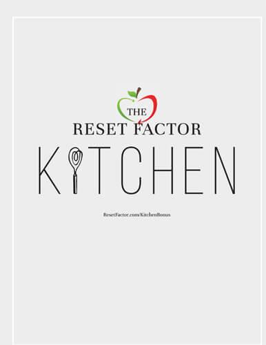The Reset Factor Kitchen eBook