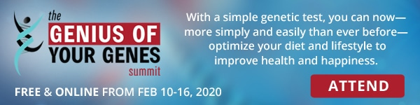 Attend the Genius of Your Genes Summit
