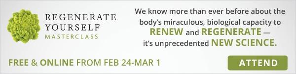 Attend Regenerate Yourself Masterclass