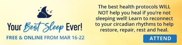 Your Best Sleep Ever Attend Banner