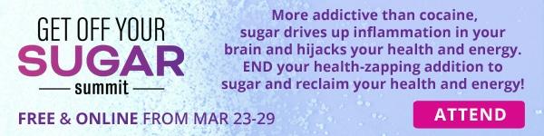 Attend Get Off Your Sugar Summit banner