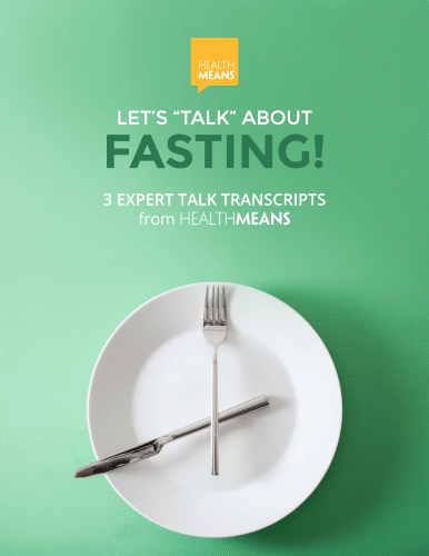 """Image """"Let's Talk About Fasting"""""""